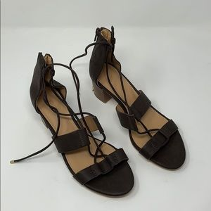 Loft Strappy Sandals Size 8